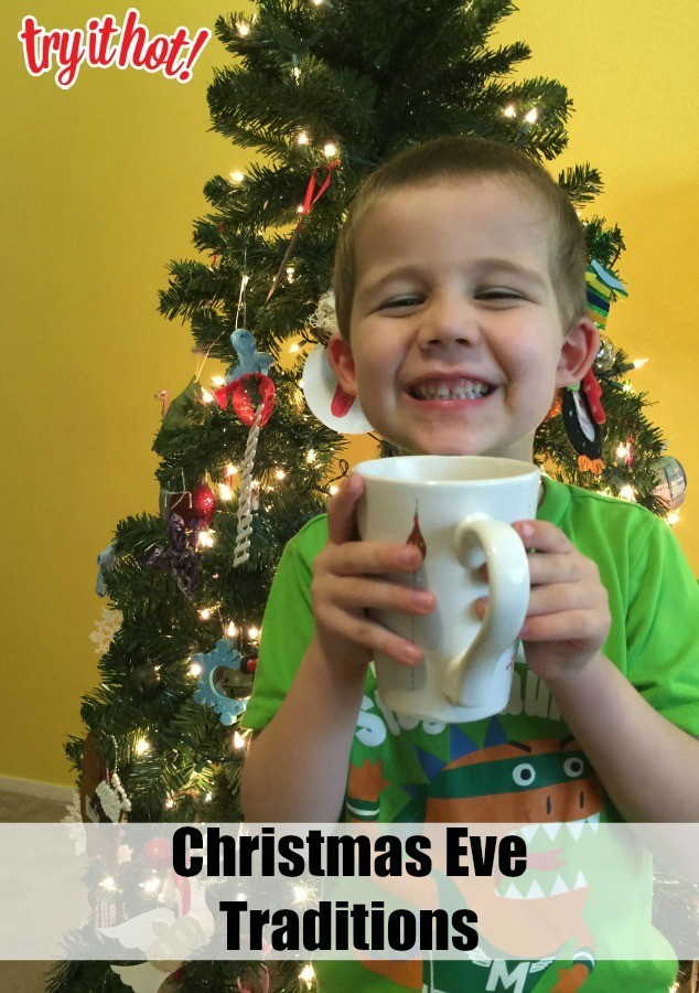 A Christmas Decorating Tradition {With Hot Chocolate Milk}