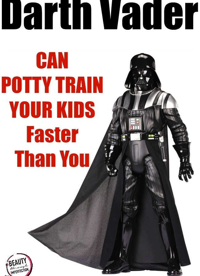 Darth Vader Can Potty Train Your Kid