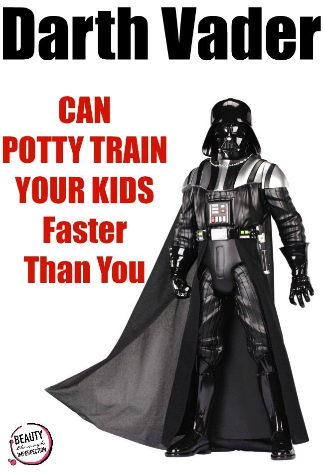 fast potty training method with darth vader