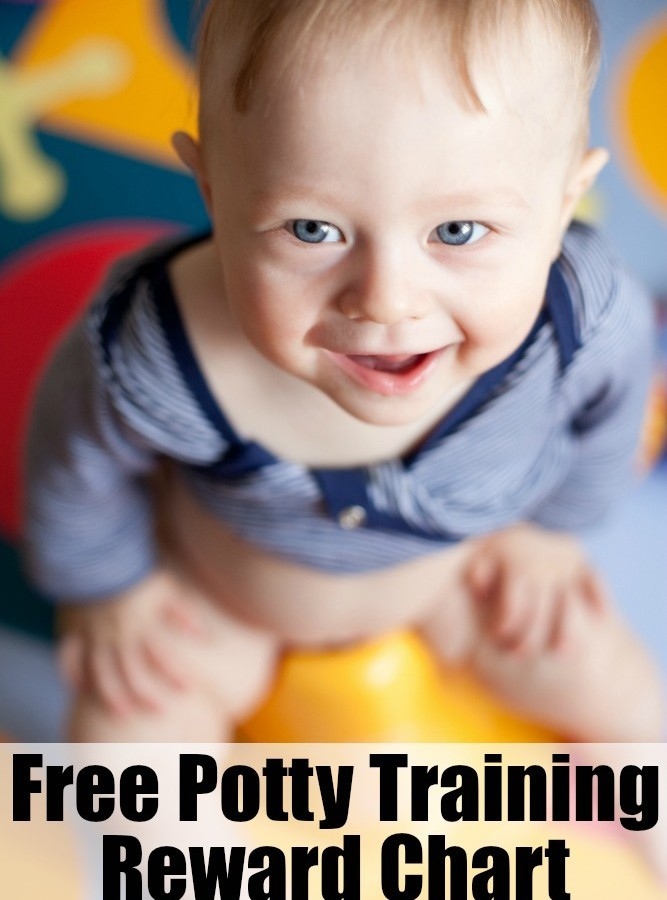 Potty Training Reward Method (Free Chart)