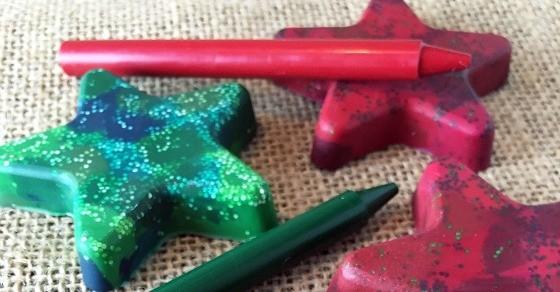 star crayons diy
