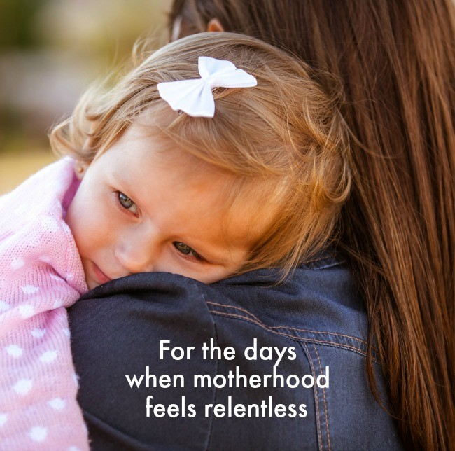 Relentless motherhood