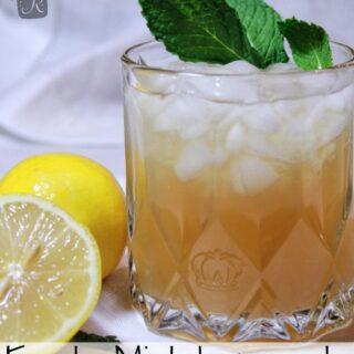 Fresh Mint Lemonade