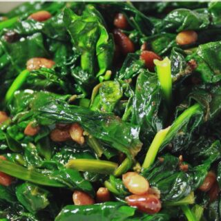 Lemon Sautéed Spinach