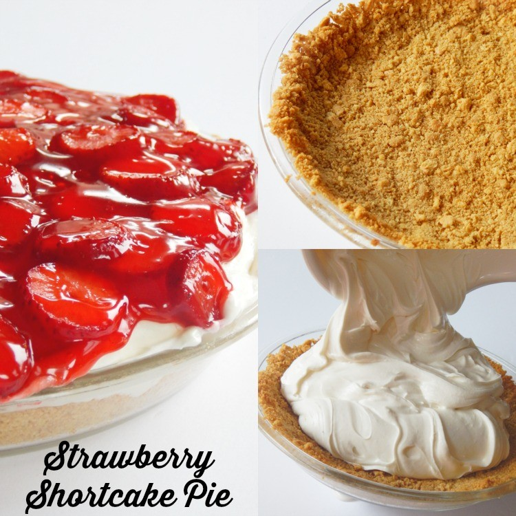 strawberry shortcake pie for valentines day