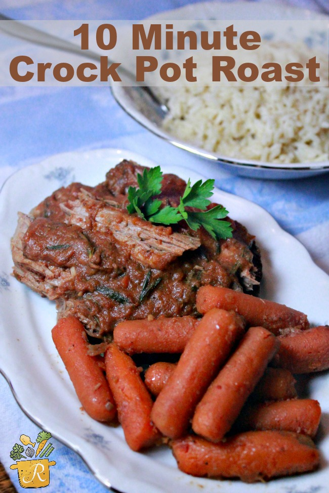 10 minute pot roast