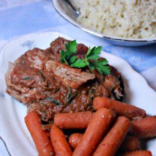 10 Minute Crock Pot Roast