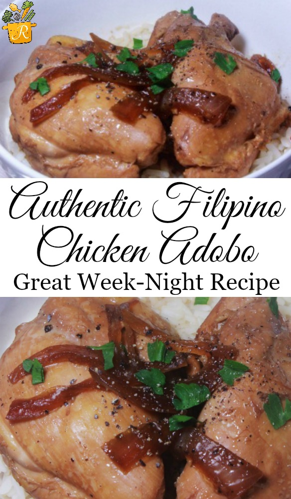 authentic filipino chicken adobo