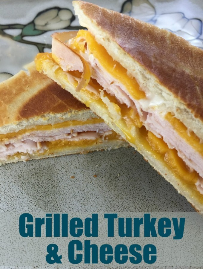 Lunch At Mama's – Grilled Turkey And Cheese Recipe