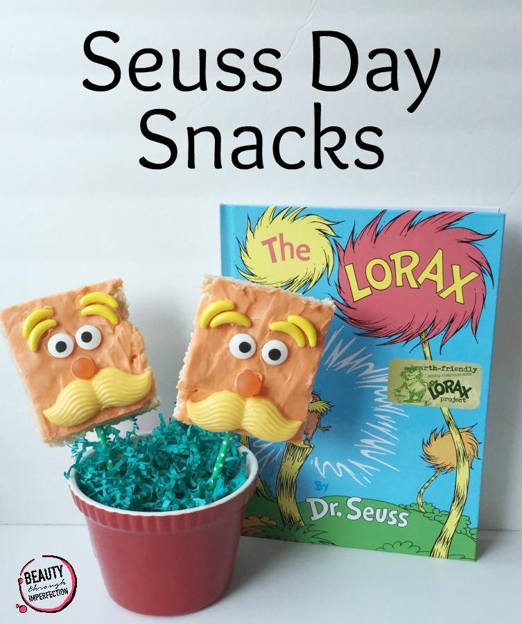 seuss day snacks