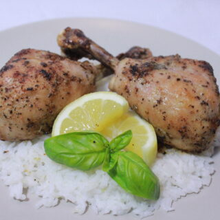 Baked Curry Chicken Drumsticks