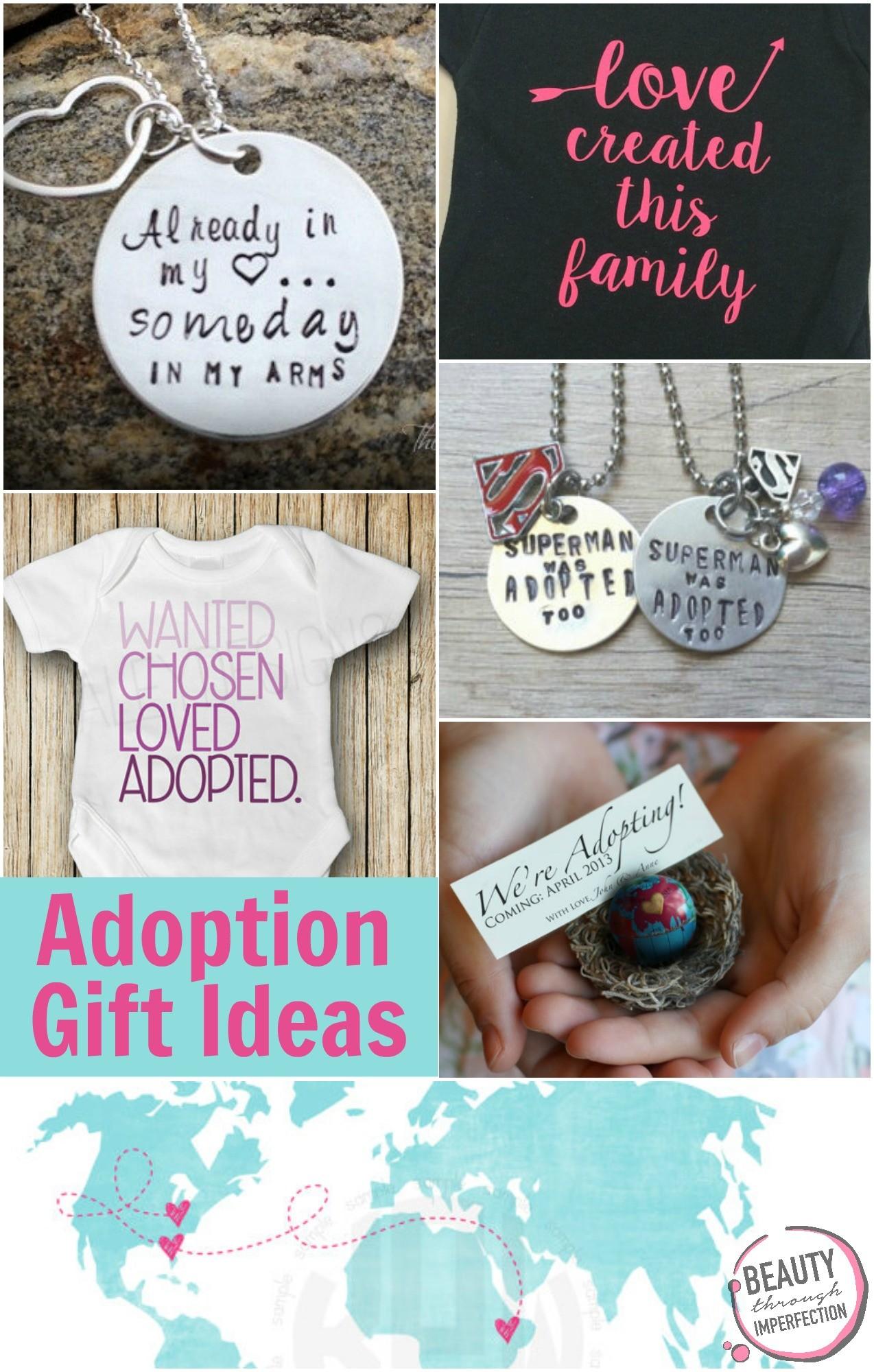 adoption gift ideas