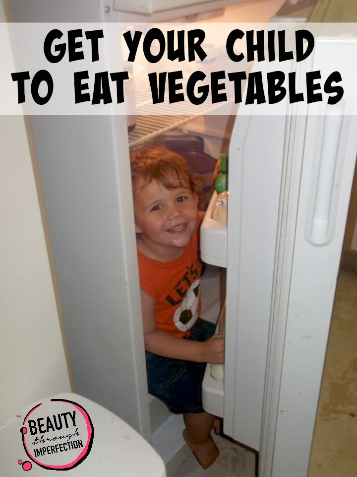get your child to eat vegetables