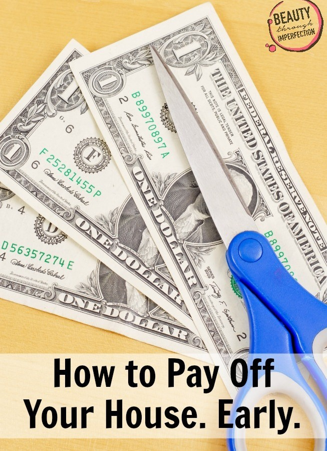 How to Pay off your house ahead of schedule