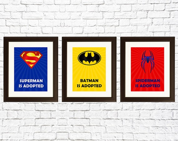 superhero adoption