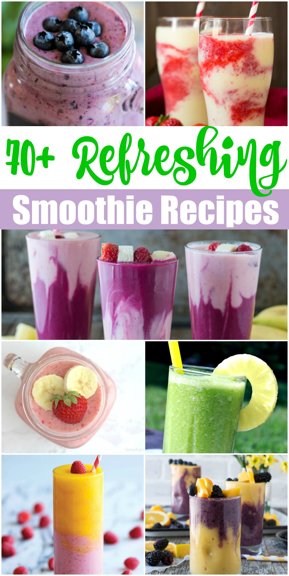 70 refreshing smoothie recipes