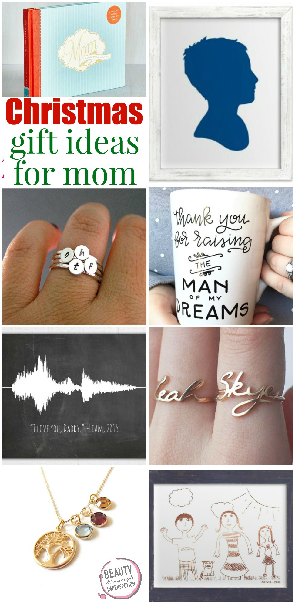 Mom 39 s gift guide beauty through imperfection for Sentimental gift ideas
