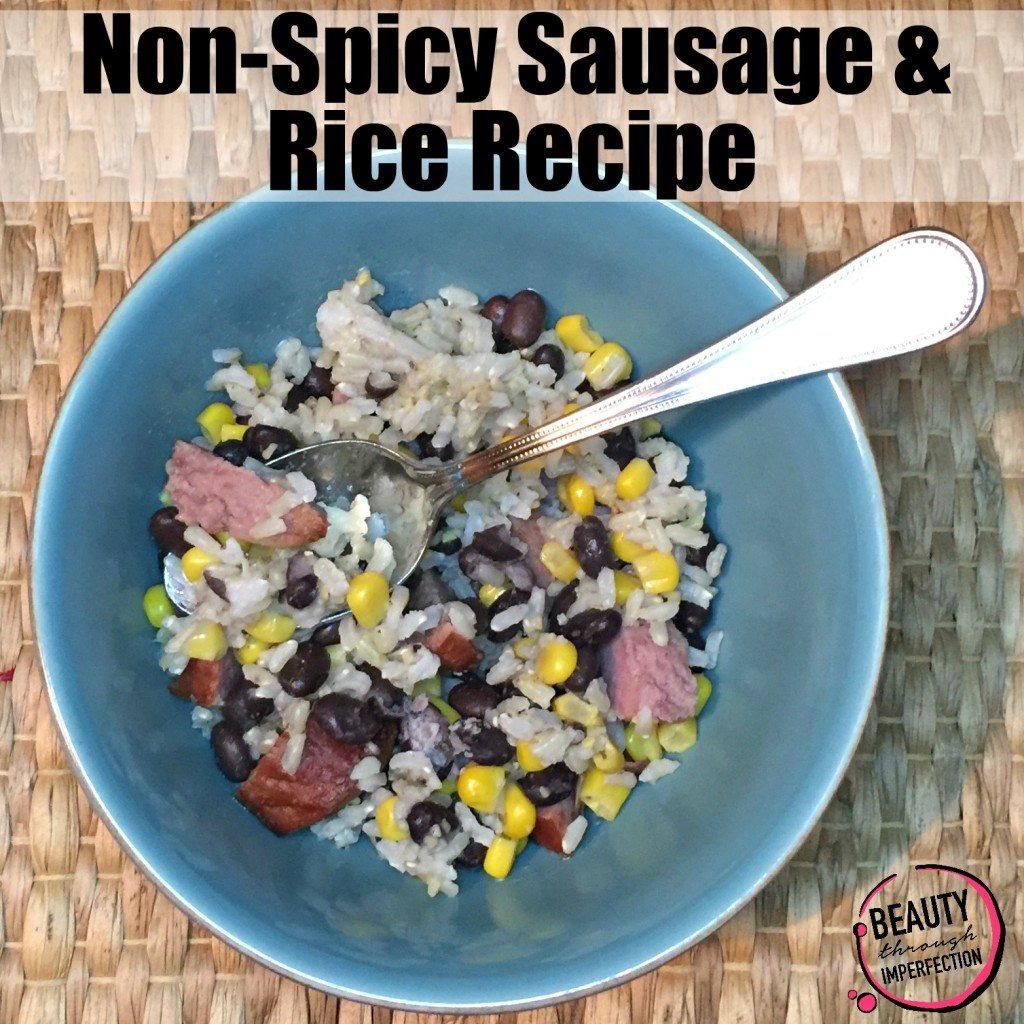 Rice and Sausage