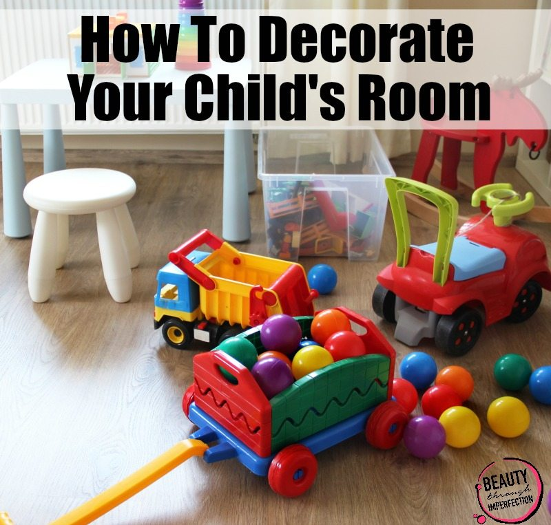 our days how to decorate a childs room Red