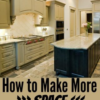 make more space in your kitchen