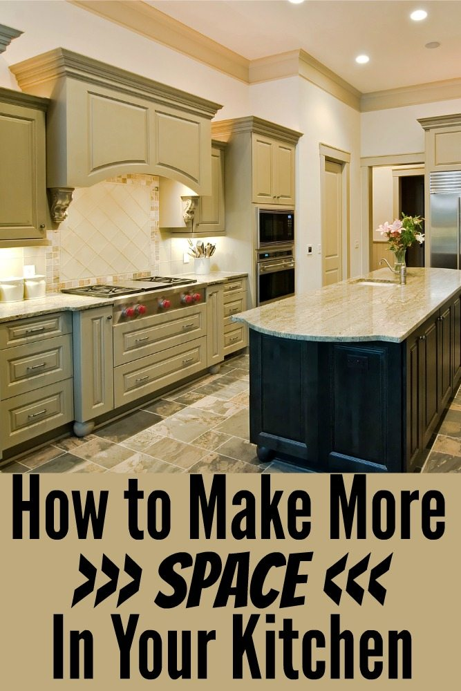 How To Make More Space In Your Kitchen