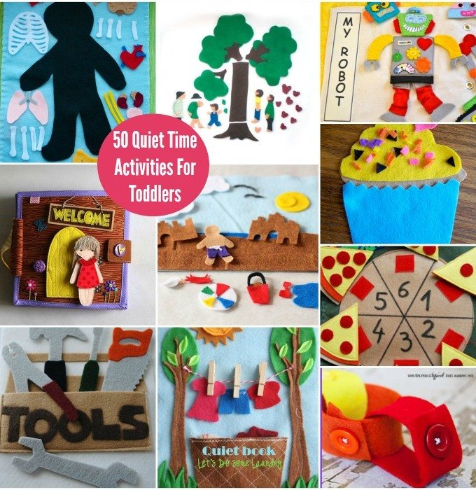 Quiet Time Activities For Preschoolers and Toddlers