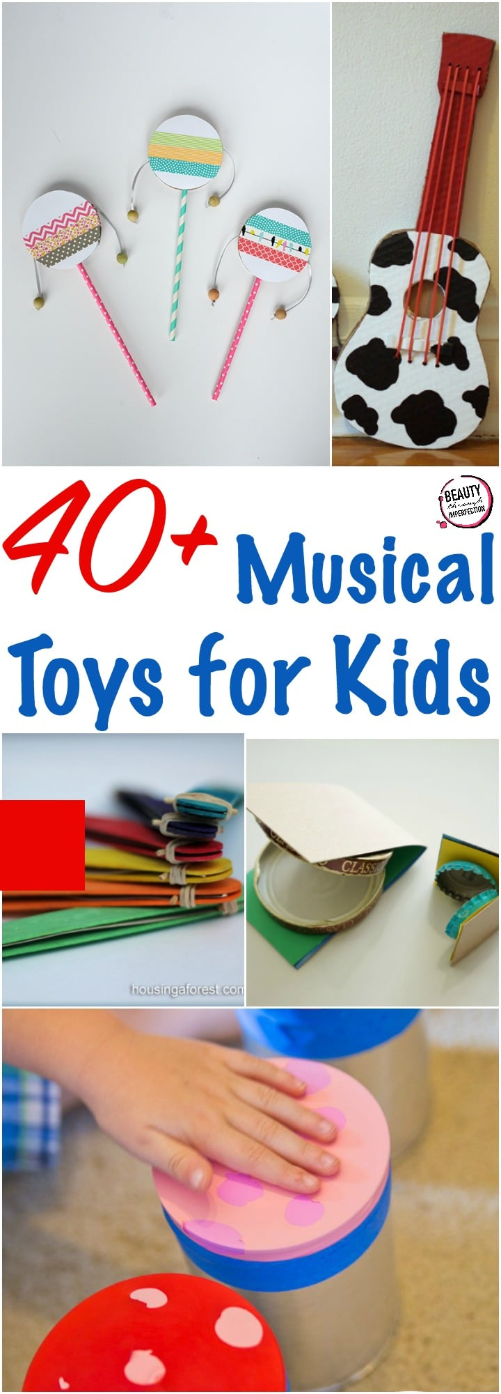40 musical toys for kids