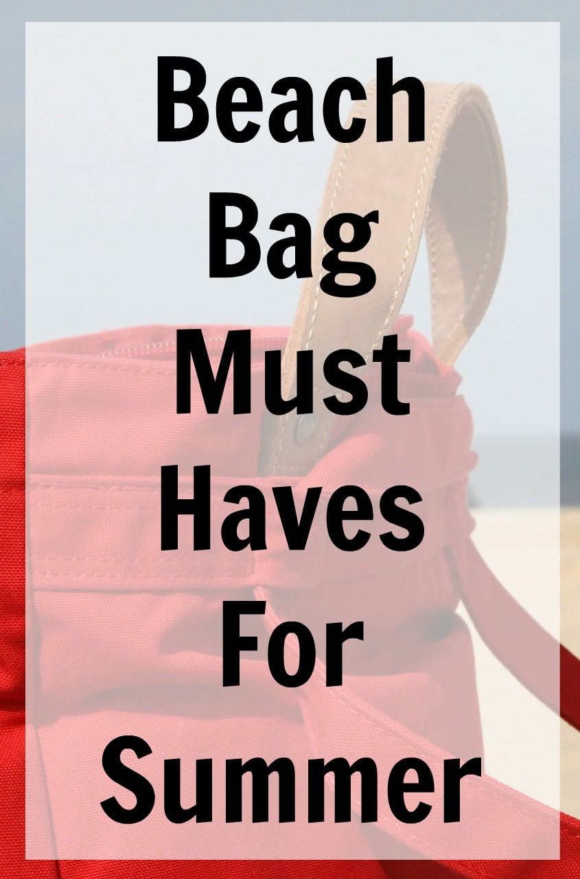 beach bag must haves for summer