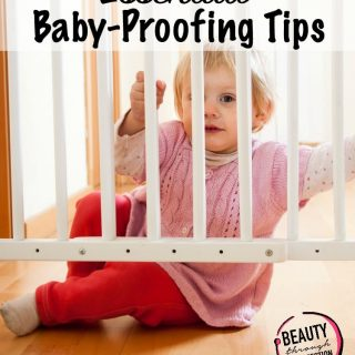 Baby proofing tips to remember!
