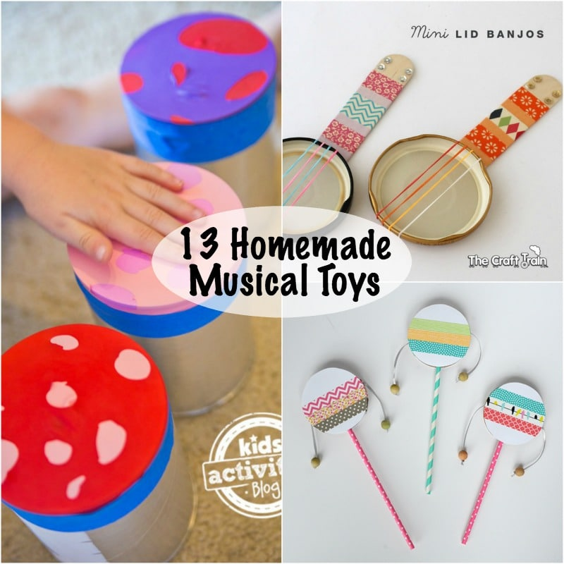 homemade musical toys