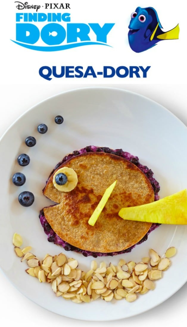 Finding Dory Party Food quesa dory