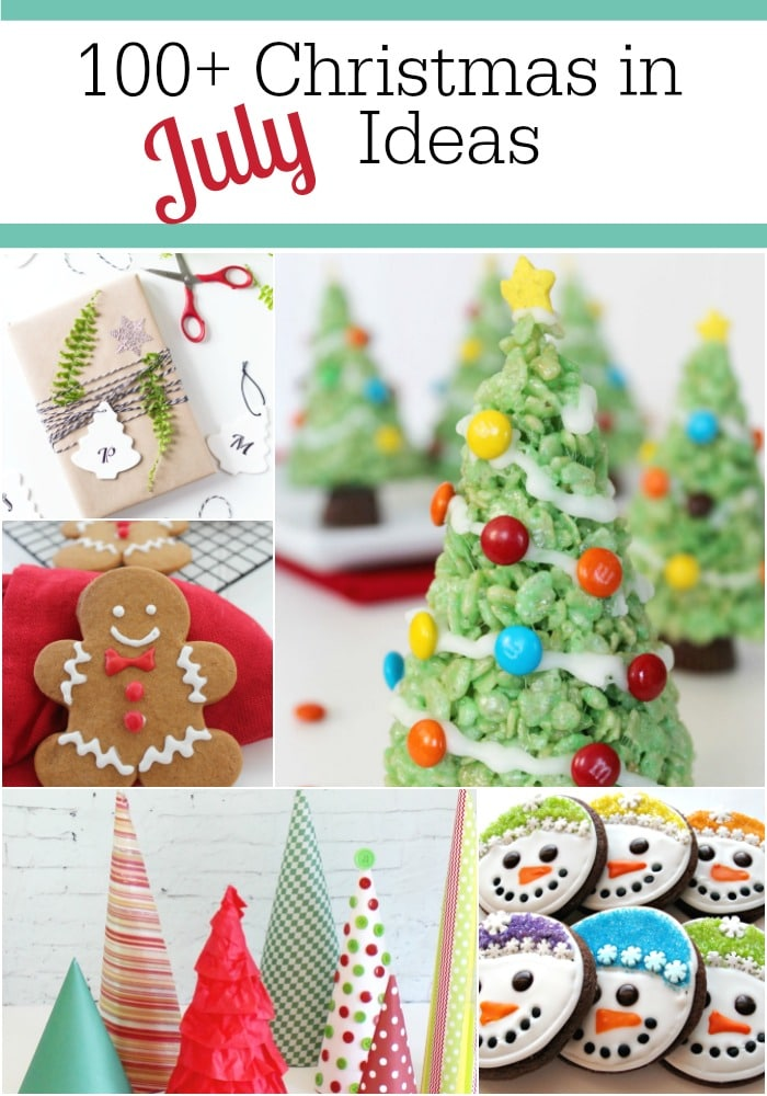 Christmas In July Party Ideas Part - 33: Christmas In July Collage