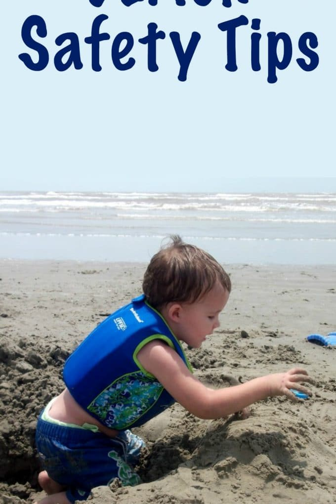 Ways to keep your kids safer at the beach
