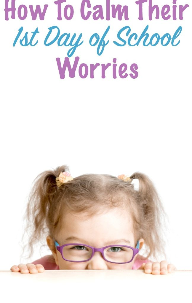 Powerful ways to help your child beat their first day of school worries