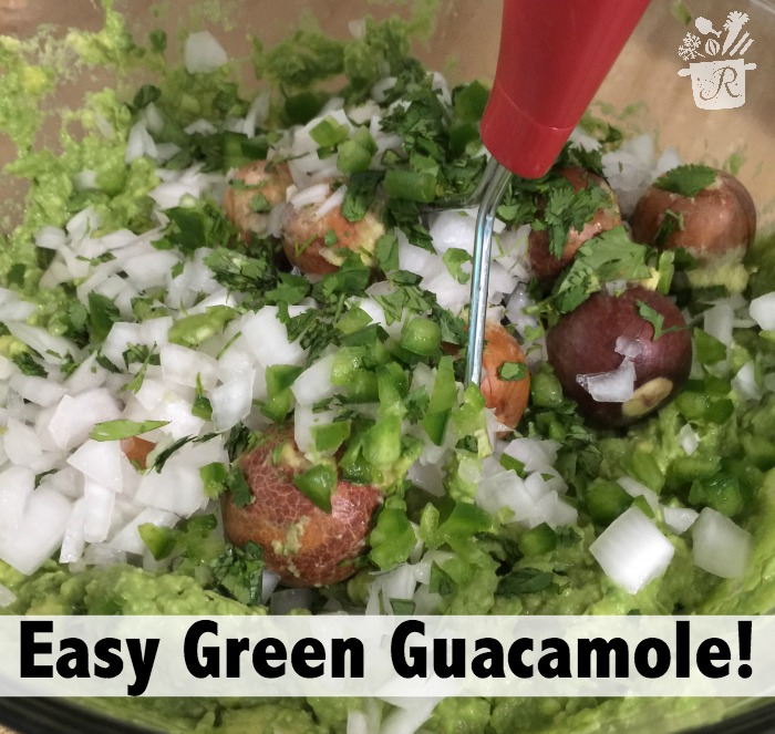 easy green guacamole