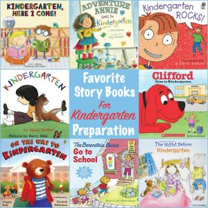 favorite kindergarten prep stories