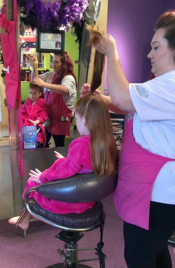girls hair day