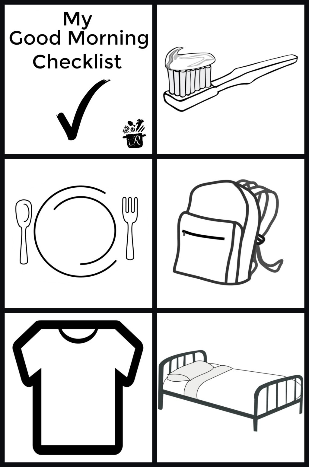good morning checklist