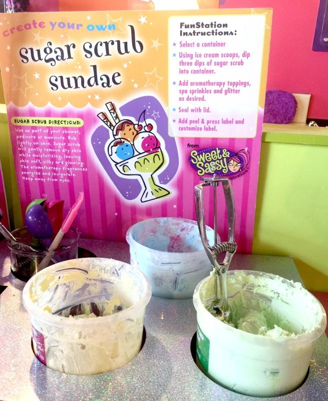sugar scrub sundae