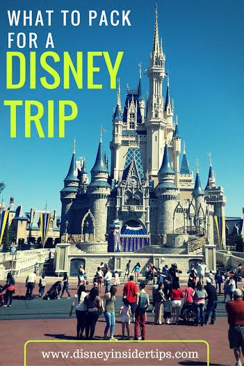 What to Pack for a Trip to Disney