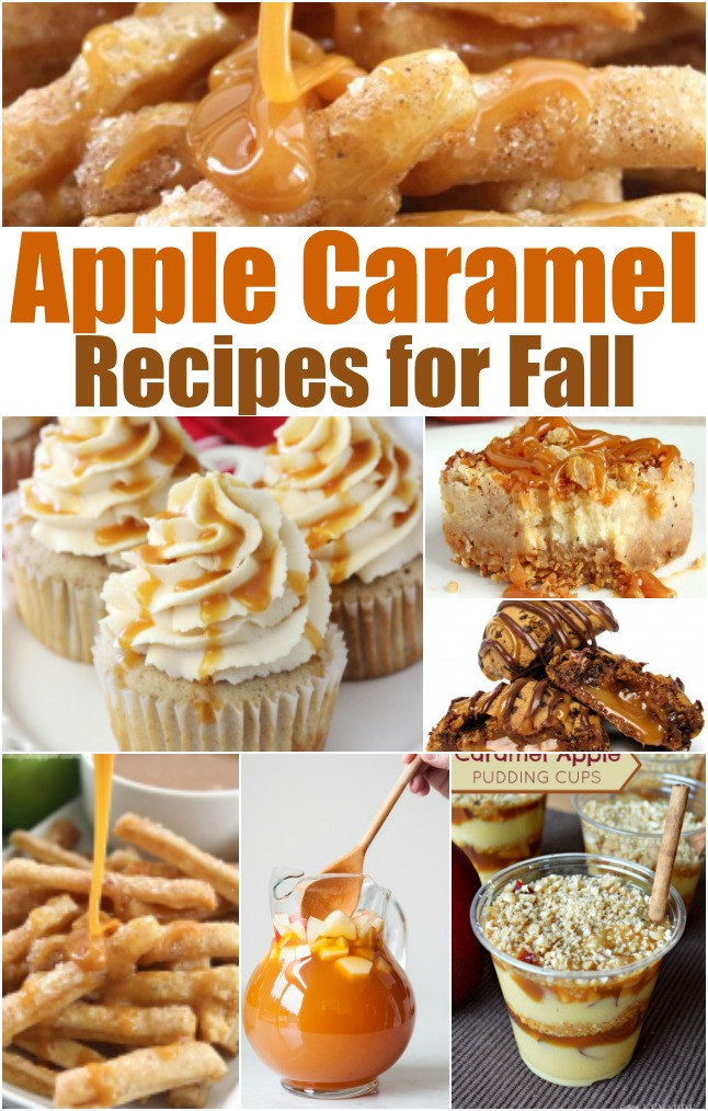 apple caramel recipes