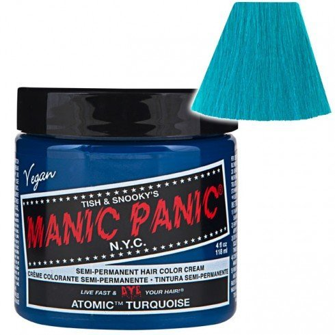 bright blue hair dye