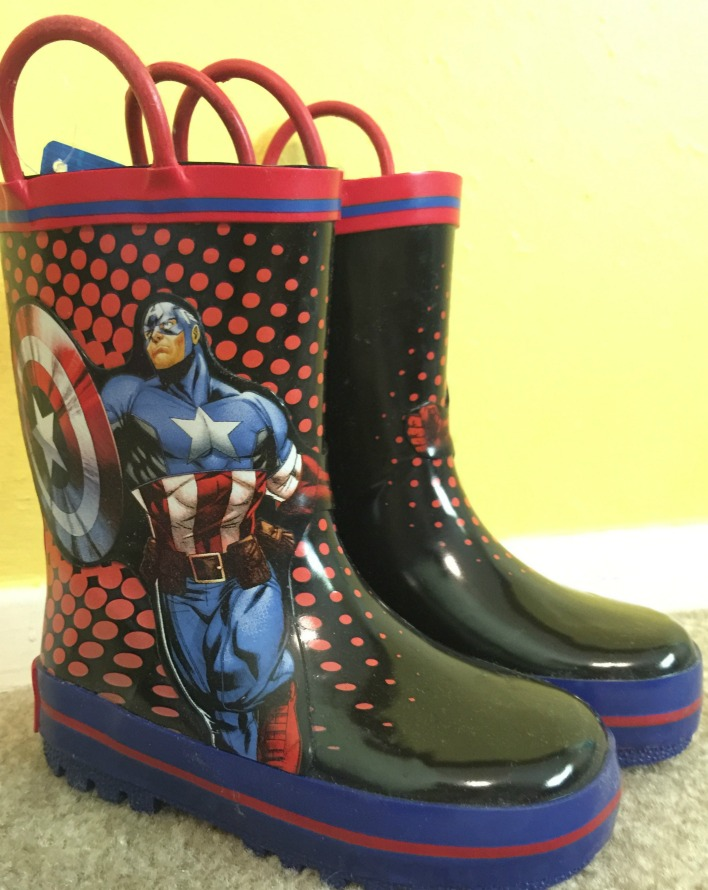 cash back on captain america boots