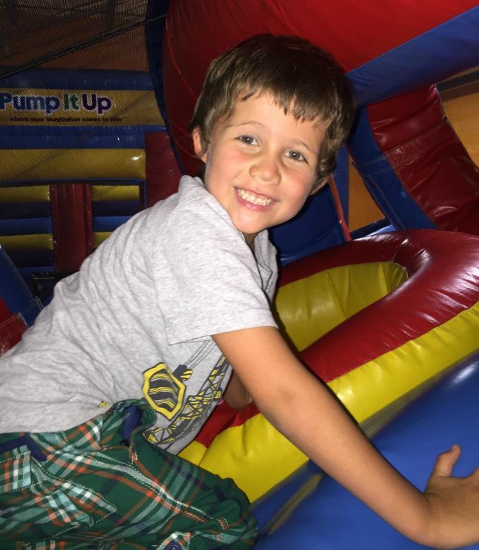 happies kid at day camp