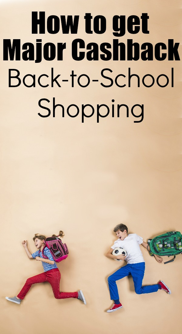 how to get cashback back to school shopping