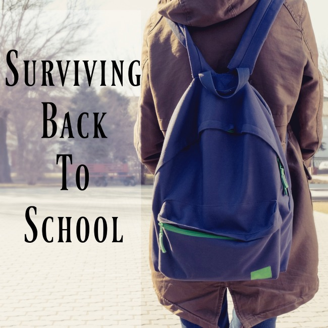 Surviving Back To School