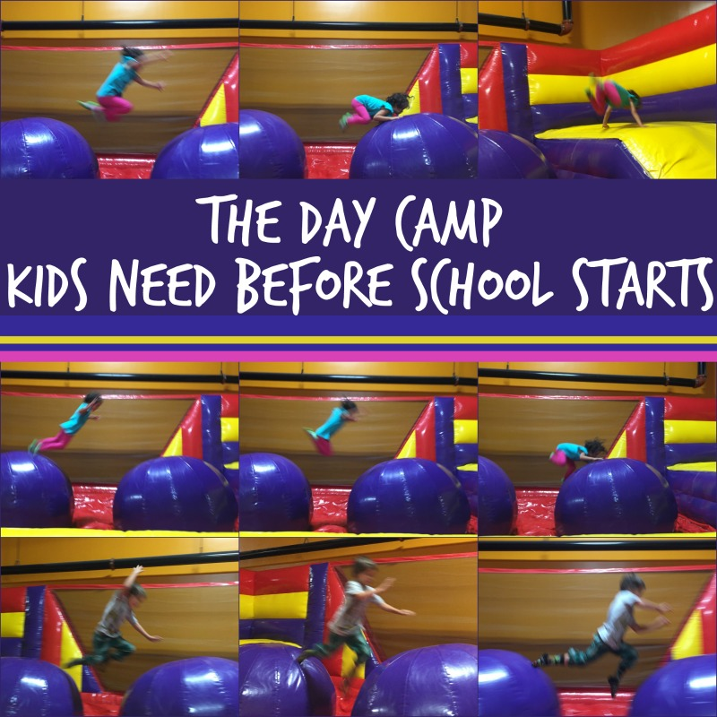 the day camp kids need