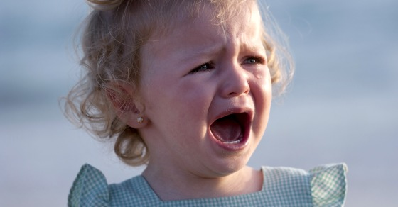 Why I {don't} leave the store when my kid starts crying
