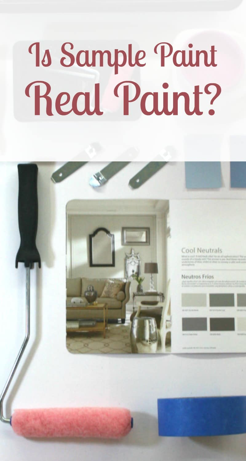 Is Sample Paint Real Paint? - Beauty through imperfection