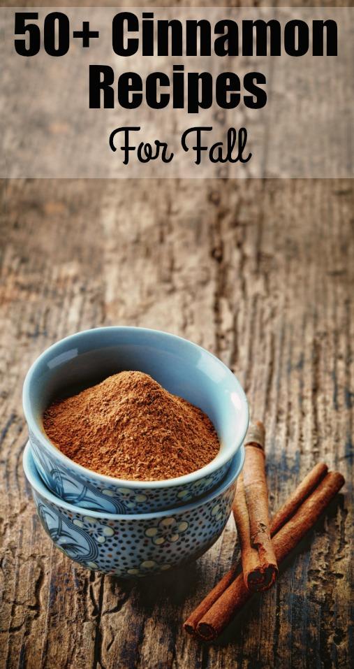 cinnamon recipes for fall